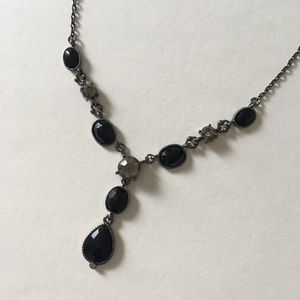 black necklace